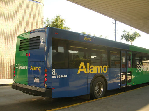 Alamo car rental lax airport shuttle 11
